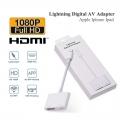 iPhone to HDMI Adapter Lightning Digital AV Charging Port 1080P
