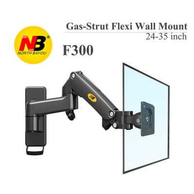 New NB F300 Gas Spring 24-35 inch LED TV Wall Mount Monitor Holder