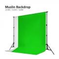 2m 3m 6m Muslin Photo Background Studio Screen Backdrop Cloth