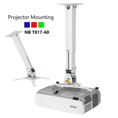 NB T817-60 Universal Projector Ceiling Mount (Display Unit)