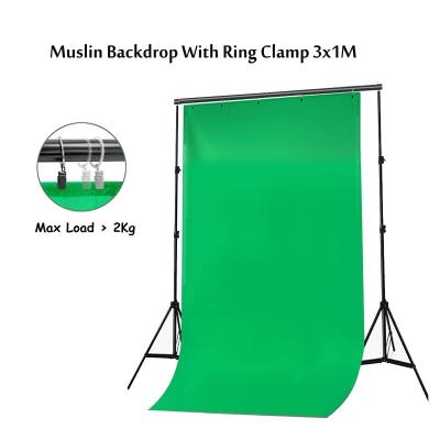 3Mx1M Muslin Photo Background Studio Screen Backdrop Cloth