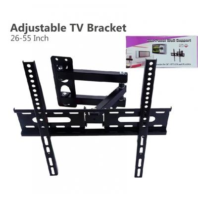 Adjustable Tilt TV Mount 26-55 Inch LCD Plasma Flat Panel Swivel