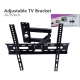 Adjustable Tilt TV Mount 26-55 Inch LCD Plasma Flat Panel Swivel