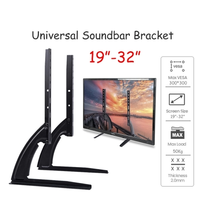 Adjustable Universal Table Top TV Stand Legs Bracket 14-42 Inch