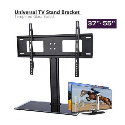 """Universal TV Table Stand/Base For 37""""-55"""" TV for Home Office"""