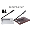 "Heavy Duty A4 Paper Cutter Metal / Wood Base 10"" x 12"""