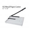 "A3 Paper Cutter Heavy Duty Metal 18""x 15"""