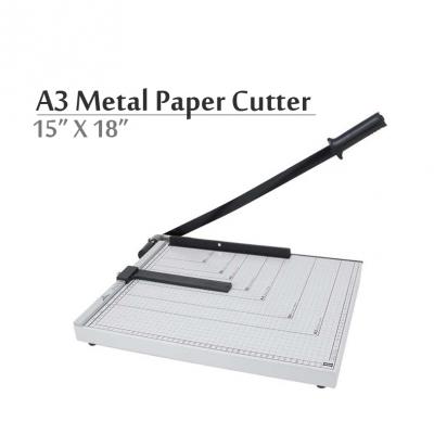 """A3 Paper Cutter Heavy Duty Metal 18""""x 15"""""""