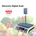 40Kg Platform Digital Weight Scale Display Pole Vege Fruits ACS 40