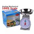 NOPS 10kg Mechanical Analog Weighing Scale [GREY] Platform Timbang