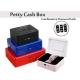 Portable Petty Cash Money Box Safe Digit Password Combination Lock