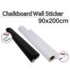 90x200cm Blackboard Chalkboard Sticker Wallpaper + Free Chalks