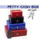 Portable Petty Cash Money Box Safe Key Lock