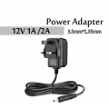 12V 1A 2A Power Supply Adapter Adaptor AC to DC 3.5mm*1.35mm