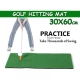 30x60cm Indoor Golf Practice Grass Mat Training Hitting Pad Golf Mat