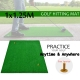 1x1.25M Indoor Golf Practice Grass Mat Training Hitting Pad Golf Mat