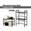 Adjustable Microwave Oven Stainless Steel Storage Rak Shelf Dapur