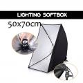 E27 Umbrella Softbox Studio Light 50x70cm Light Bulb Head Lighting