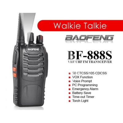 ORIGINAL BaoFeng BF-888S 3KM Walkie Talkie 16 Channel Radio BF888S
