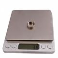 Mini Digital Stainless Steel Weighting Scale 2Kg x 0.1