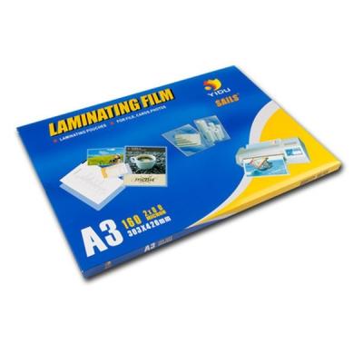Office Laminator Laminating Laminate Pouches Film A3 (80MIC)