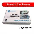 Car LED Display 2 Eye Parking Sensor Reverse System