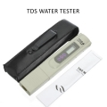 Digital LCD TDS TEMP PPM TDS Tester for Water Quality+Leather Cover