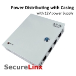 12V Power Supply Metal Casing Distributor Switching CCTV