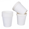 Paper Cup 7Oz White 207ml  ( 1box / 1000pc )