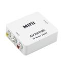 AV to HDMI Converter Adapter Video Audio RCA to HDMI Converter