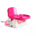 Babyhood Portable Adjustable Baby Booster Seat Chair