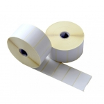 Blank Barcode Label Sticker for Ink Ribbon Printer 35*25 mm