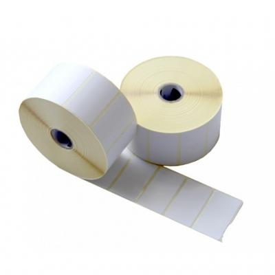 Blank Barcode Label Sticker for Ink Ribbon Printer 35*25 mm