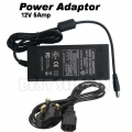 12V 5A 60W DC Power Supply Adapter Stable CCTV Camera