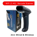Barcode Reader Scanner Laser Scanner CT980N 2in1 Wired & Wireless