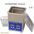 Ultrasonic Cleaner PS-08A Stainless Steel 1.3L (with Steel Basket)