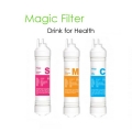 "Magic Water Filter Replacement Cartridge 8"" Inch - U type"