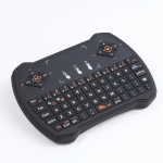 V6A Wireless Keyboard Air Mouse Touchpad TV Box  - BLACK