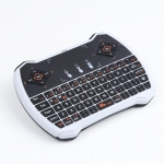 V6A Wireless Keyboard Air Mouse Touchpad TV Box  - WHITE