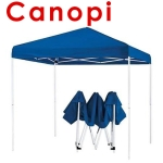 Canopy Tent for Event Khemah Kanopi Red and Blue - 2.5m x 2.5m