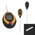4 In 1 LCD Digital Soil Temperature Sunlight Moisture PH Tester