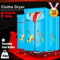 Clothes Laundry Dryer Portable Electric Air Drying Cloth Mesin Kering