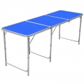 Portable Foldable Aluminium Table Camping Outdoor Table 180cm