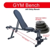 Adjustable Gym ABS Exercise Sit Up Bench Fitness Chair (Only)