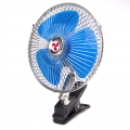 Car Fan Vehicle Oscillating 8inch DC 12V with Clip Clamp