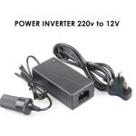 Car Cigarette Lighter Power Converter Adapter Inverter Home to Car