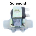 Solenoid Valve 12v Plastic - 1/2 inch size