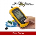 Sonar Sensor Fish Finder Alarm Transducer 100m (English Version)
