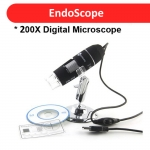 50x to 500x USB Microscope Endoscope 2MP Sensor with Adjustable Stand