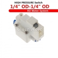 "High pressure switch for pump ro water fitlers 1/4"" DC 24v"